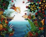 tableau marine composition art salmet marin : composition N°2