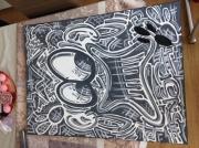 tableau personnages streetart freesthaii : VINTAGE INSPI
