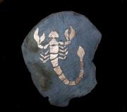 tableau animaux mosaique ardoise decoration : signe zodiac