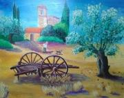 tableau paysages occitanie midi vie paysanne : Vie en Occitanie