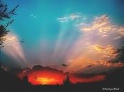 photo paysages coucher soleil paysage serenite : Plénitude.