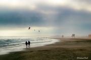 photo paysages mer plage ciel port la nouvelle : In love.