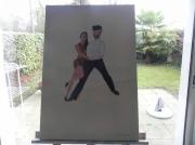 tableau couple : couple de danseure