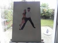 couple de danseure