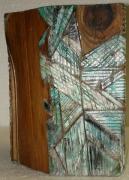 sculpture abstrait bois sculpture saison peinture : Hiver