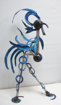 Le coq bleue