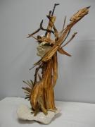 sculpture personnages personnages sculpture pierre bois : Chaman
