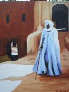 tableau scene de genre : sud maroc