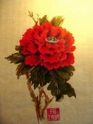 tableau fleurs pivoine chinois fleurs : Pivoine