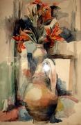 tableau : Vase de fleurs