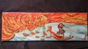 tableau autres phoenix feu poulet griller : Chicken burn ou... CHAUD le poulet!!! CHAUD!!!