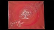 tableau scene de genre chemtrails arbre pollution rouge : Chemtrails effects
