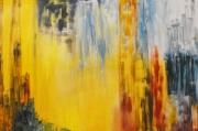tableau abstrait toile huile artiste abstrait : SYMPHONIA