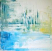tableau abstrait toile abstrait art artiste : ZENITUDE
