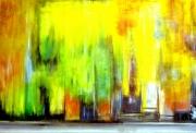 tableau abstrait huile sur toile automne peinture galerie : automne