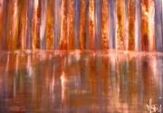 tableau abstrait huile sur toile art abstrait peinture artiste : CONSCIENCE