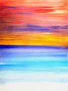 tableau abstrait toile peinture abstrait art : SEPTEMBER