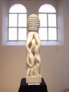 sculpture abstrait sculpture sculpteur toulouse marbre : Entrelace