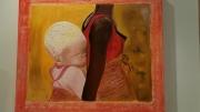 tableau personnages : FEMME PORTANT SON ENFANT