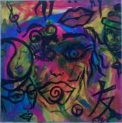 tableau visage couleur : freestyle