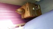 deco design autres table bois chevet caisse : Table de chevet