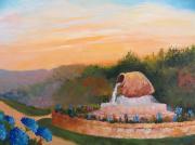 tableau paysages : Cure à Cambos les bains