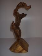 sculpture abstrait bois loch ness montstre : Loch ness