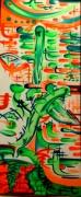 tableau abstrait : CACTUS