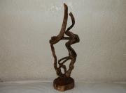 sculpture : et il tourna