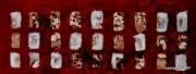 autres abstrait abstrait haiku technique mixte ideogramme : Larmes du Dragon II