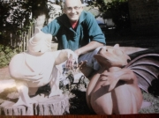 sculpture autres : Artur ,popeye et moi