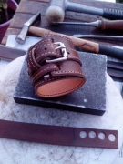artisanat dart bracelet cuir : Bracelet de force