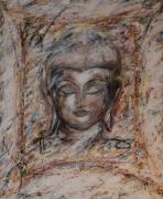 tableau : Bouddha (effet au couteau)