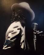 tableau personnages michael jackson star black musique : Michael jackson