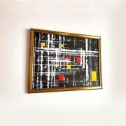 tableau abstrait : Peinture abstraite : Tambo