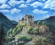 tableau architecture : Château d'Uriage