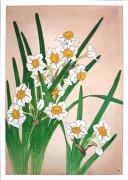 tableau fleurs : Narcisses