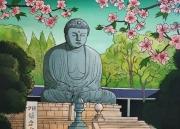 tableau : Le Grand Bouddha de Kamakura