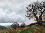 tableau paysages : campagne en automne