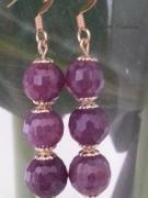 bijoux autres pierre gemme rubis facettes bo rubis : LES RUBIS FACETTEES