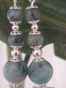 bijoux pierres gemmes emeraude bo emeraude : LES EMERAUDES ET ARGENT MASSIF