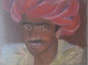 dessin personnages sourire exotique charme virilite : Afghan
