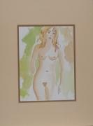 tableau nus : Blonde