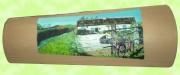 artisanat dart paysages tuile decoree maison vendee : Maison vendéenne