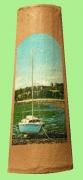 artisanat dart marine tuile decoree bateau mer : la mer