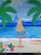 tableau paysages exotisme vacances mer : EMMENEZ MOI
