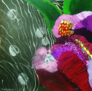 tableau fleurs : Tropical Flowers.
