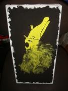 tableau phoenix tableau acrylique : Phoenix