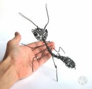 sculpture animaux fil de fer sculpture fourmi insecte : Fourmi en fil de fer - Sculpture