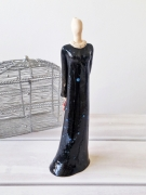 ceramique verre personnages ceramique figurine deco maison idee cadeau unique : Miss Katherine